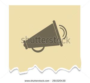 stock-vector-loudspeaker-icon-vector-illustration-291520430