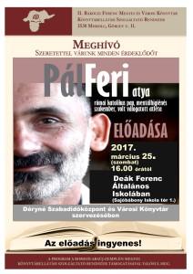 Pálferi Atya plakát