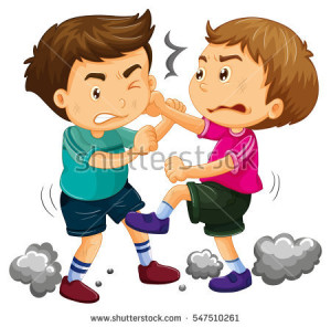 stock-vector-two-young-boys-fighting-illustration-547510261