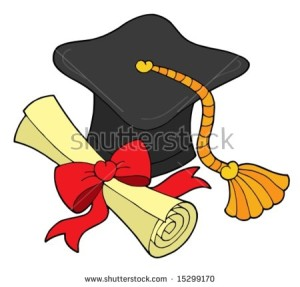 stock-vector-graduation-hat-and-scroll-vector-illustration-15299170
