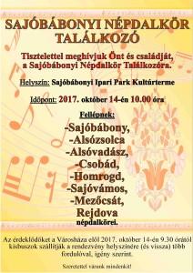 Népdaltalálkozó plakát_tt